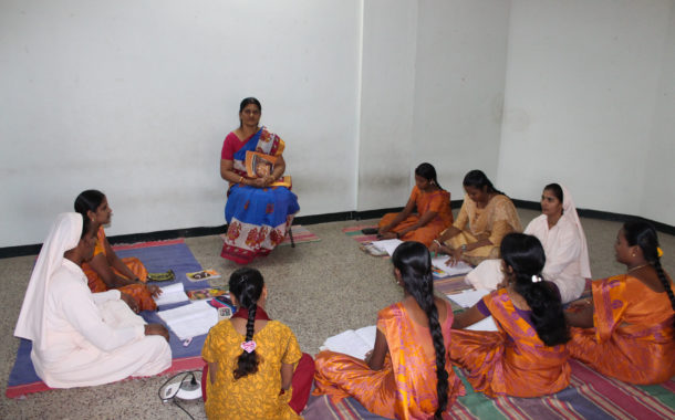 Dr.V.VENKATALAKSHMI, M.A., M.Phil.,Ph.D in Music Assistant Professor in Carnatic Music (Vocal)
