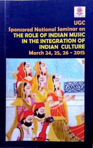 The Role of Indian Music 2016