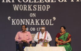 Workshop on Konnakkol 08-08-2017